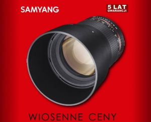 Samyang 85mm f1.4 AS IF UMC AE do Nikona