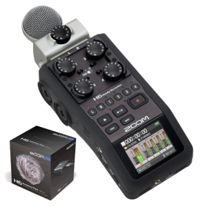 Zoom H6 rejestrator + APH-6