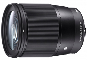 SIGMA 16mm F1.4 DC DN Contemporary SONY E
