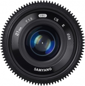 Samyang 21mm T1.5  do Sony E