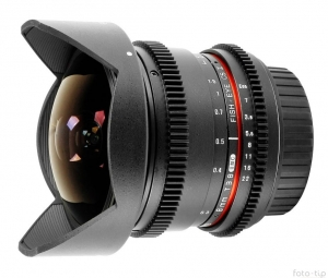Samyang 8mm VDSLR T3.8 Fish-eye CS II do Sony