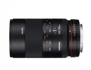 Samyang 100mm F2,8 ED UMC MAKRO do Fuji