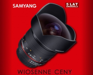 Samyang 14mm F2.8 do Canona