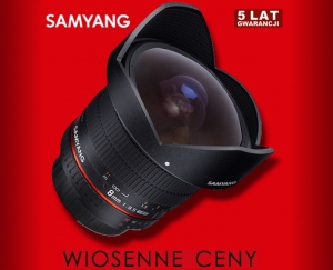 Samyang 8mm f/3.5 Aspherical IF MC Fish-eye CS II do Olympusa