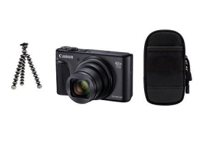 Canon PowerShot SX740 HS 4K TRAVEL KIT Czarny