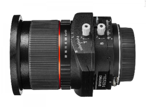 Samyang T-S 24mm f/3.5 ED AS UMC Tilt-shift do Canona