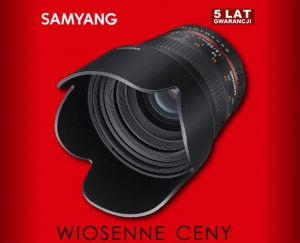 Samyang 50mm F1.4 do Sony E