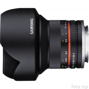Samyang 12mm F2,0 do Canona M