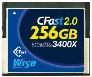 Wise CFast 256GB x3400 2.0