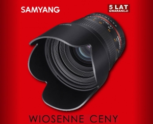 Samyang 50mm F1.4 do Canona M